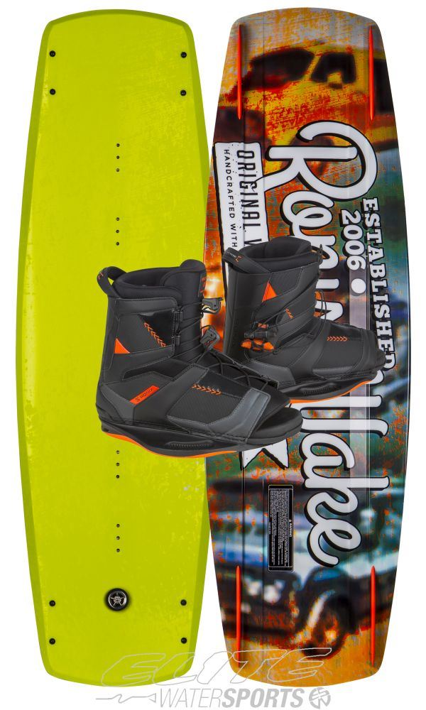 RONIX CODE 21 2017 W/NETWORK BOAT PACKAGE